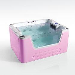 Design attrayant matière acrylique de haute qualité baby piscine spa de nage
