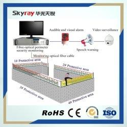 Sistema di controllo di fibra ottica di intrusione di perimetro della rete fissa