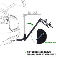 На велосипеде велосипед кронштейна сцепного устройства для установки в стойку для автомобилей SUV погрузчика