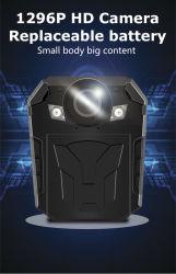 آلة تصوير خارجيّة 2.0 بوصات شاشة شرفة جسم يرتدى آلة تصوير مع [140&دغ]; [فيلد وف فيو] أمن [كّتف] آلة تصوير