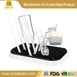 Facttroy の卸し売り折りたたみ式多機能赤ん坊のびん乾燥の棚のびんのホルダー