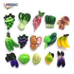 Mix Style Mini Lovely Fruits Gemüse Dekorative Board Magnetische Aufkleber Kühlschrank für Dekore