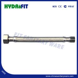 SS304 EPDM tressés tube fin raccords en laiton flexible (HY6317)