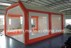 Piscina Garaje portátil carpa hinchable de cabina de pintura cabina de pintura