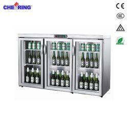 Junjian mini Getränk-Kühler-kleine Bier-Getränkebildschirmanzeige-Kühlvorrichtung (TG-300M3)
