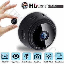 A9 WiFi Mini 1080P HD CCTV cámara inalámbrica inteligente de Visión Nocturna Niñera Grabador DV Camcorder vigilabebés