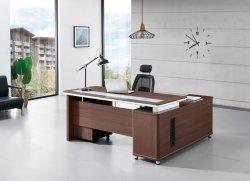 Banheira de venda de madeira em forma de L de MDF de mobiliário de escritório executivo de mesa do escritório de turismo