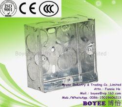 La caja de terminales de cable eléctrico de metal
