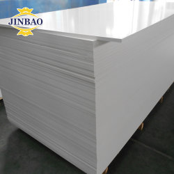 Jinbaoのパネルの中国の打抜き機の印刷18mmの16mm装飾的な壁の重量の木製のプラスチック10mm SintraはボードPVC泡の泡立った