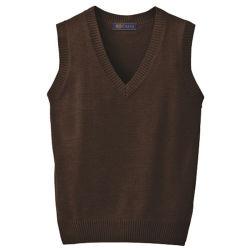 Baumwollkind-Kind-Jungen-Pullover-Strickjacke-Gitterfeld-Schuluniform-Strickjacke-Weste 100%