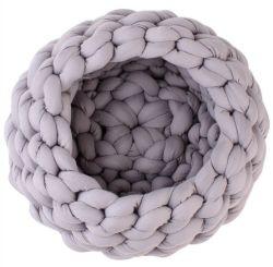 Fil de coton Core-Filled lavable en machine main Hand-Knitted grossier Pet Kennel la litière pour chat fils