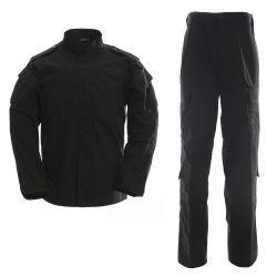 Armee-Kampf-Uniform professionelle kundenspezifische Tarnung-Militäruniform-schwarze Klimaanlage-T/C 65/35