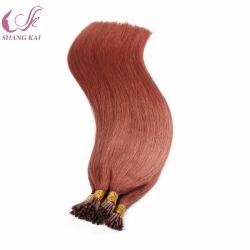 Weltbester verkaufenprodukt-voller Kopf spitze ich Schmelzverfahrens-Haar-Extensionen kein kurzes Haar