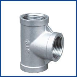 150lb schraubte gleiches T-Stück für Öl-/Gas-/Wasser-Edelstahl-Rohrfittings