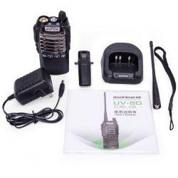 Commerce de gros UV Baofeng-8d Radio bidirectionnelle 400-520MHz UHF 128CH Transceiver talkie walkie double Interphone PTT