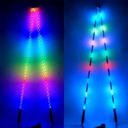 Tamanho personalizado APP Luz inteligente de controle de Bluetooth todo terreno RGB Veículo Ai LED tubo novos chicotes Lights ATV Acessórios