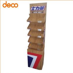 Esposizione personalizzata per pavimenti in fogli di carta corrugata POS