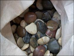 Más barato de adoquines de piedra natural Multicolor SF-CC-005 piso para la pavimentación de jardinería paisajística