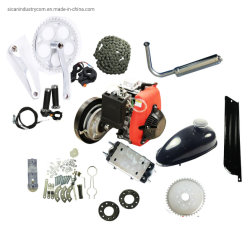 49cc Bike Kits de Motor a Gasolina de 4 Tempos Kits de Motor de bicicletas motorizadas puxe começam com a engrenagem da correia Mini Pocket Quad ATV Dirt Bike Buggy