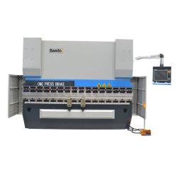 160t 5000 мм гидравлическое складывание машины и системы управления с ЧПУ гидравлический листогибочный пресс