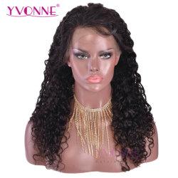Лучшее качество бразильского Super вьющихся волос человека кружевной передней парики