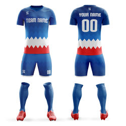 Secado rápido sublimación Camiseta de fútbol personalizadas para el equipo Maillot de foot