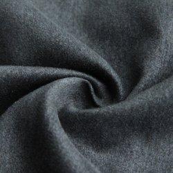 De donkere Grijze Stof van het Suède van de Textiel van de Manier 100%Polyester voor Kledingstuk/Kleding/Trenchcoat