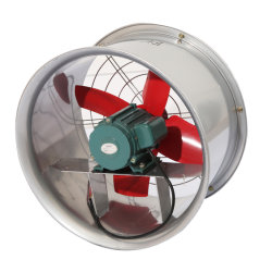 Sf-Série B de tipo de parede de baixo ruído industrial do duto do ventilador axial