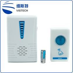 Resistente al agua de la casa funciona el botón de puerta electrónica campanas