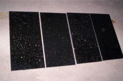 Pulido de Piedra Natural/pulido/flameados/tocado/Sandblasted/Madera aserrada de granito negro Galaxy azulejos para interiores/exteriores exterior/Piso/pared decoración/revestimiento