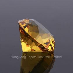 60мм хрустальное стекло не сорвалась фантазии Rhinestone алмазов для украшения дома и свадебный подарок Валентина (FC-60мм)