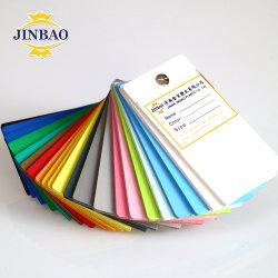 Jinbao 0.55 strati rigidi trasparenti spessi 3mm bianchi del PVC dell'Iran 2mm dei forex di 4X8 colorati taglierina rigida bianca 4mm