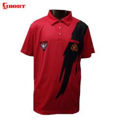 Ajuste a seco de desporto Aibort camisas polo logotipo personalizado lawn bowls camisa Polo (Polo 124)