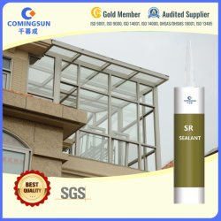 Gp Neutro Silicone RTV estruturais/Silicone Aderente para alumínio