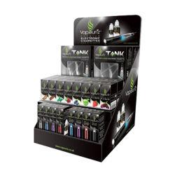 Affichage en carton avec étagère pour les produits de maquillage/carton Candy affichage/affichage de E-cigarette en carton