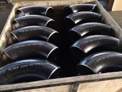 Raccordo per tubi in acciaio al carbonio API 5L ASME ANSI DIN BS Gomito a 90° per saldatura di testa a raggio lungo
