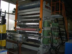 방수 PVC 바닥 시트 생산 라인 소프트 PVC 가죽 시트 기계 제작