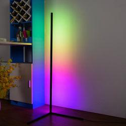 Aanbevolen LED-nachtlampje in de hoek RGB-vloerlamp