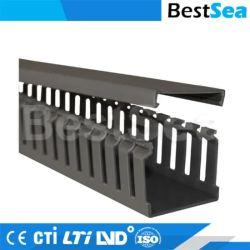 Condotto elettrico condotto quadrato in plastica flessibile, nero trasparente condotti per cavi in vendita