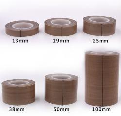 Высокая температура 300 градусов термостойкий односторонний силиконовый PTFE /коричневого цвета черный/белый короткого замыкания Teflonstape