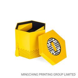 Personalizar o papel impresso elegante cor Dom Alimentos bolo de rolo de Cartão personalizado de papelão caixa de embalagem