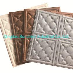 Moda Design Home decorazione Brick schiuma Fiori 3D Wallpaper Sticker