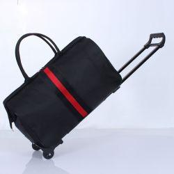 Venda a quente Soft Saco de viagem bagagem Duffle Saco Trolley