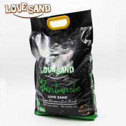 Emily Animali domestici Love Sand Factory PET Supply Easy Clean Natural Cucciolata di gattino di bentonite di argilla