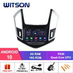 Sistema di multimedia dell'automobile DVD GPS Forchevrolet Cruze 2014 del Android 10 di Quadrato-Memoria di Witson video