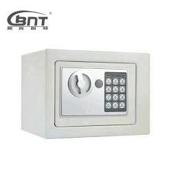 Depósito de dinheiro de caixa metálica de aço Mini caixa de cofres do gabinete de armazenamento