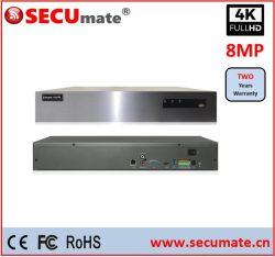Secumate 36 Channel 4K 4MP 4X HDD شبكة CCTV IP مسجل الفيديو NVR