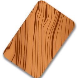 ورقة تزيين من الفولاذ المقاوم للصدأ مطلية PVC للوحات الحائط
