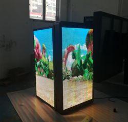 Digital Signage для использования вне помещений дисплей со светодиодной подсветкой индивидуальные P3/P4/P5/P6 с высокой яркостью 6500 нит улице лампы после дисплей Pole