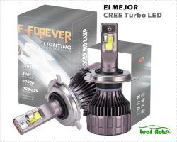 Auto Zubehör IP67 Kit Luces LED High Power Bombillo Luz LED Super Bright Focos LED Auto Lampen Turboled CREE CSP LED-Scheinwerfer